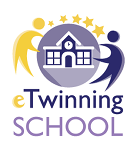 Logo awarded with eTwinning School